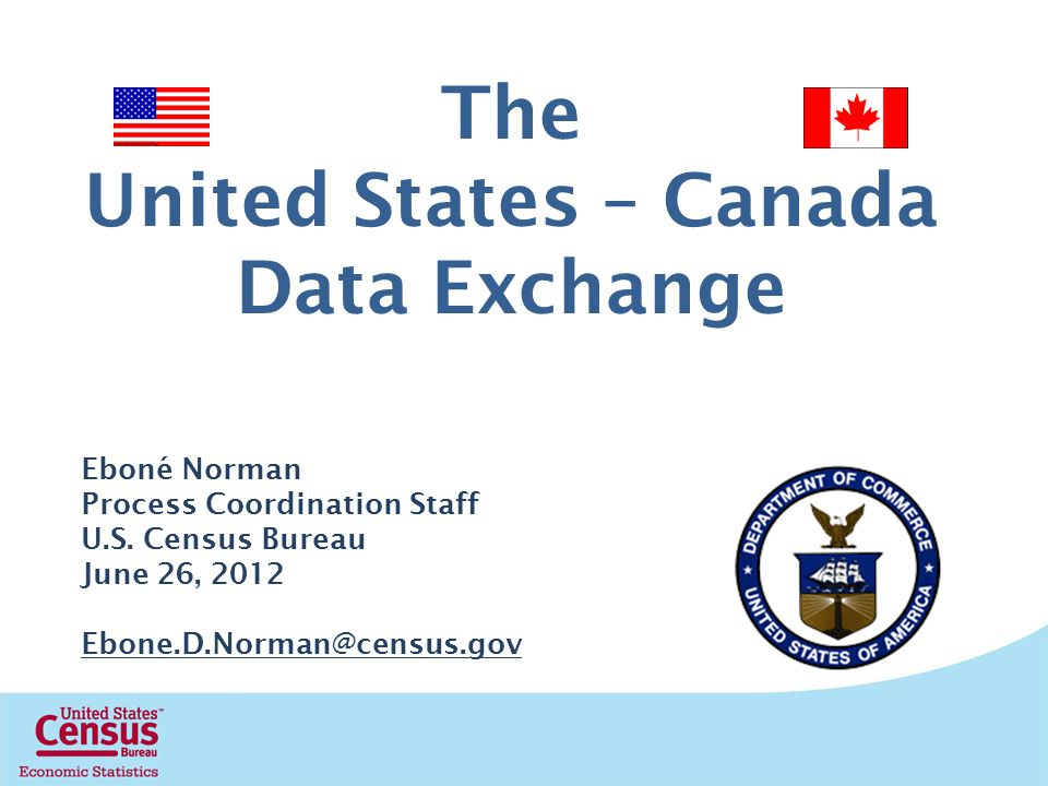 United States – Canada Data Exchange