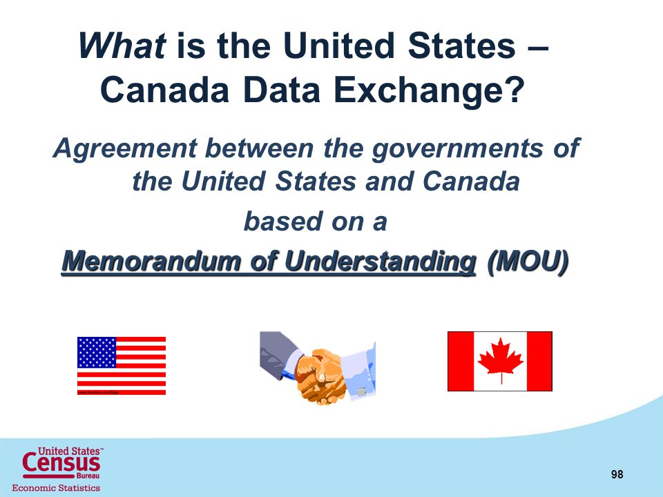 What is the United States – Canada Data Exchange