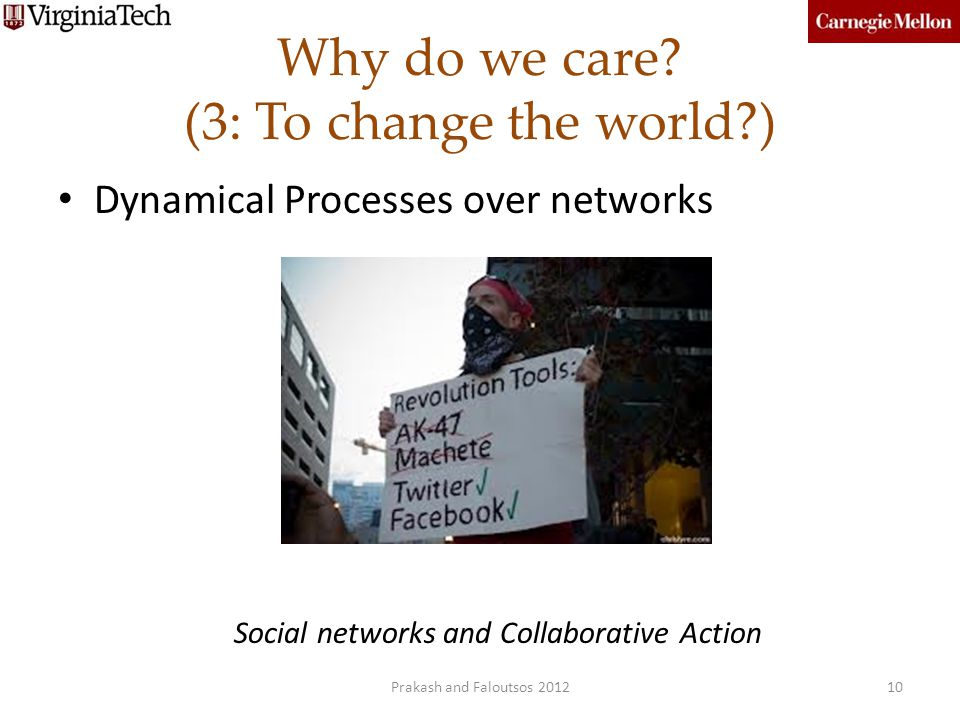 Why do we care (3: To change the world )