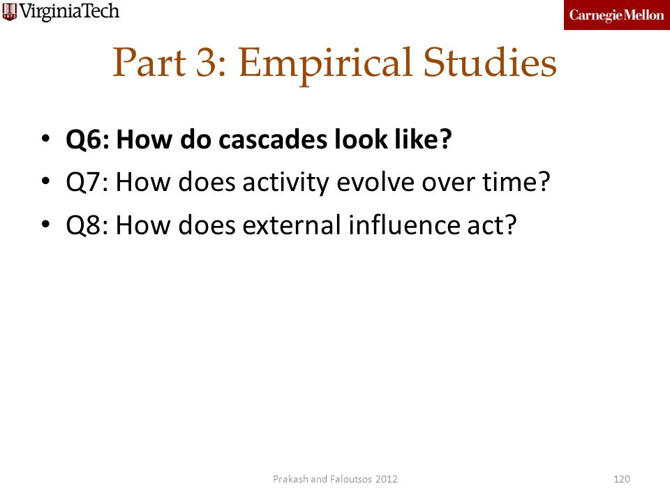 Part 3: Empirical Studies