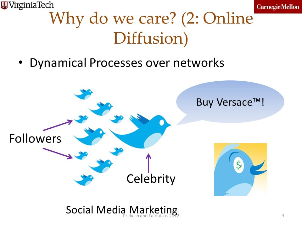 Why do we care (2: Online Diffusion)