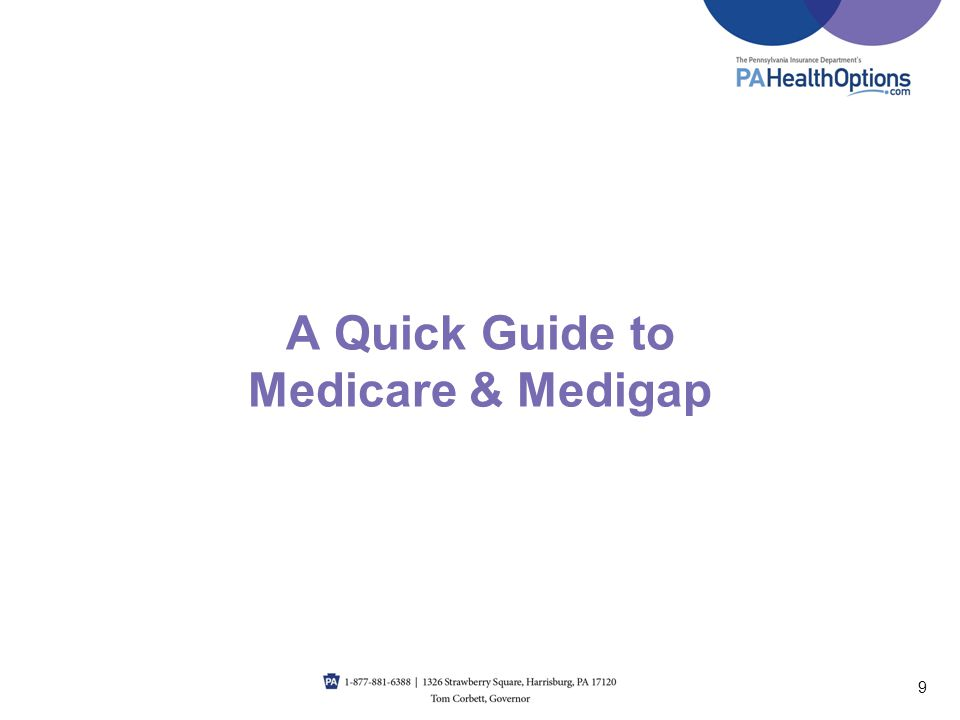 A Quick Guide to Medicare & Medigap