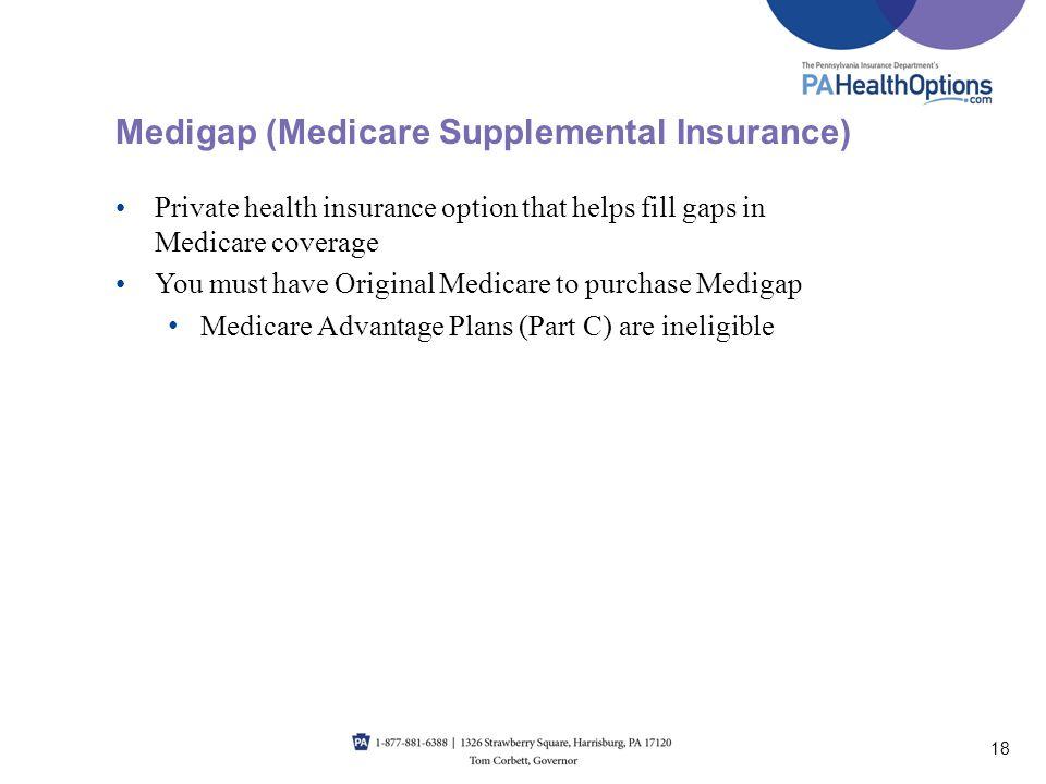 Medigap (Medicare Supplemental Insurance)