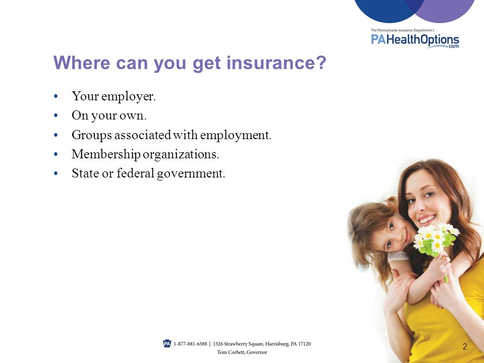 Where can you get insurance