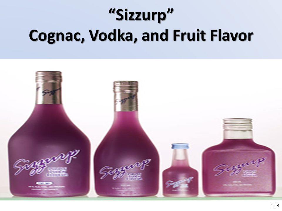 Sizzurp Cognac, Vodka, and Fruit Flavor
