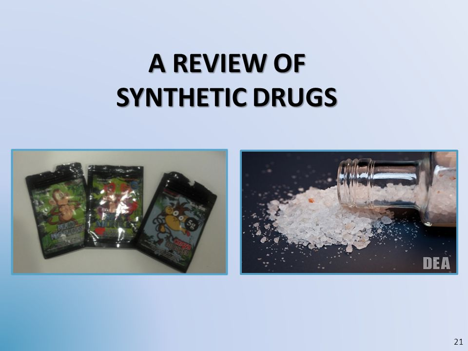 A Review of synthetic DRUGS