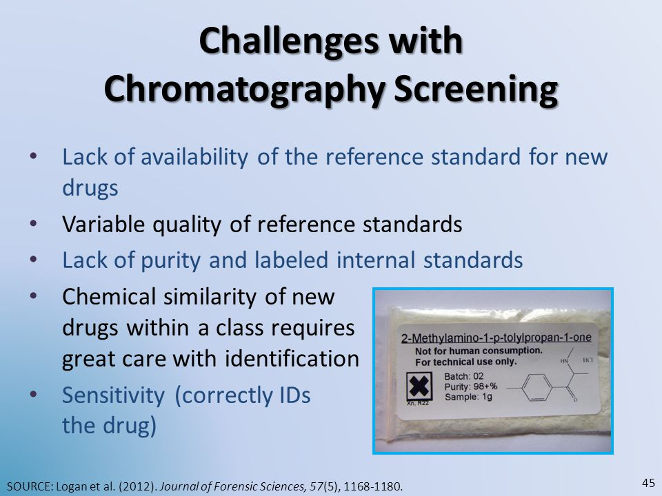 Challenges with Chromatography Screening