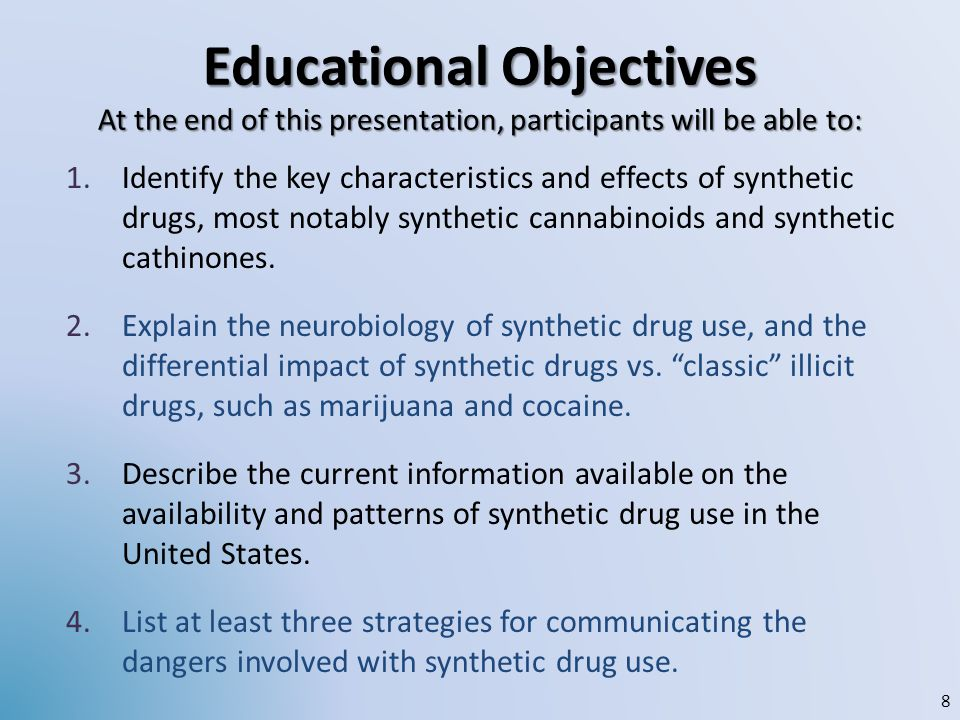 Educational Objectives At the end of this presentation, participants will be able to: