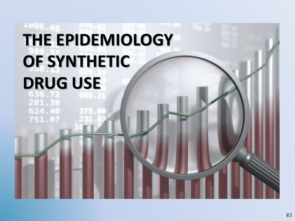 the EPIDEMIOLOGY OF synthetic DRUG USE