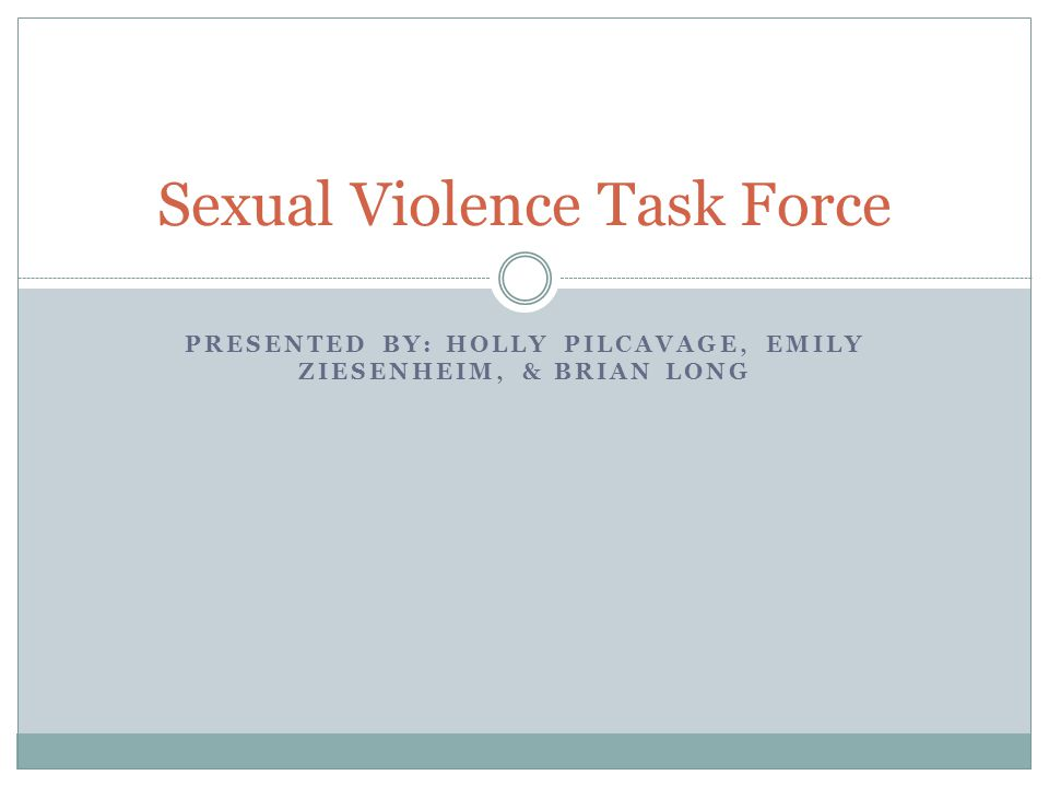 Sexual Violence Task Force