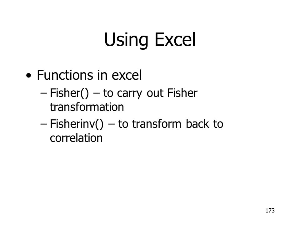 Using Excel Functions in excel