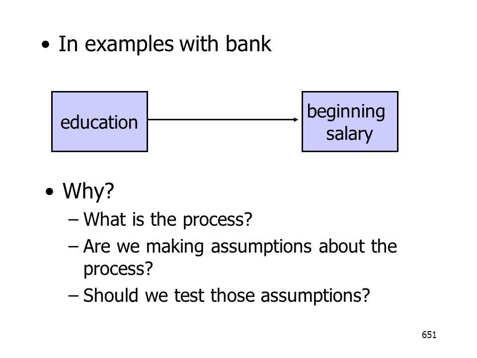 In examples with bank Why beginning education salary