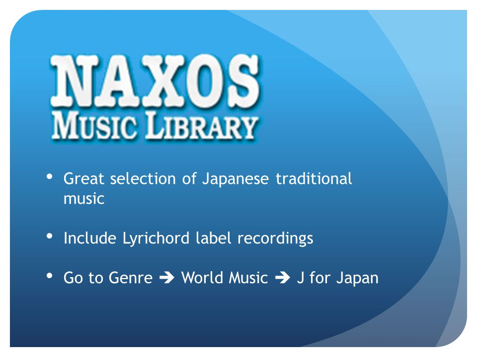 Great selection of Japanese traditional music