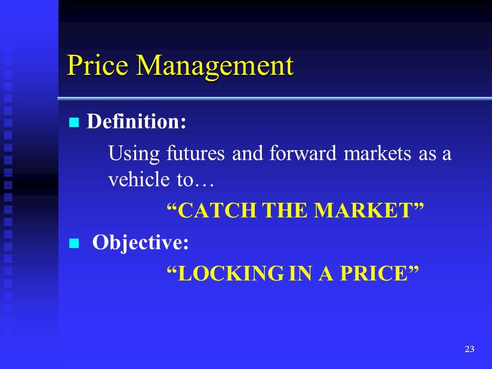 Price Management Definition: