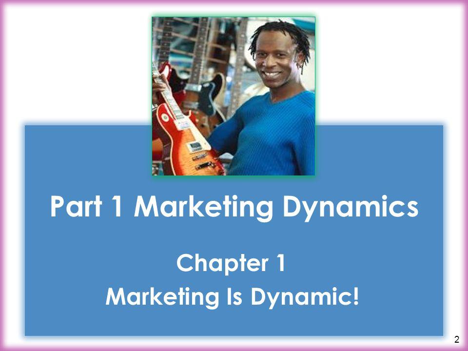 Part 1 Marketing Dynamics