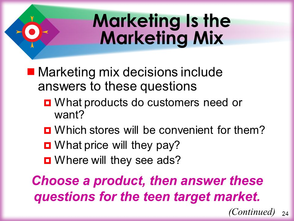 Marketing Is the Marketing Mix