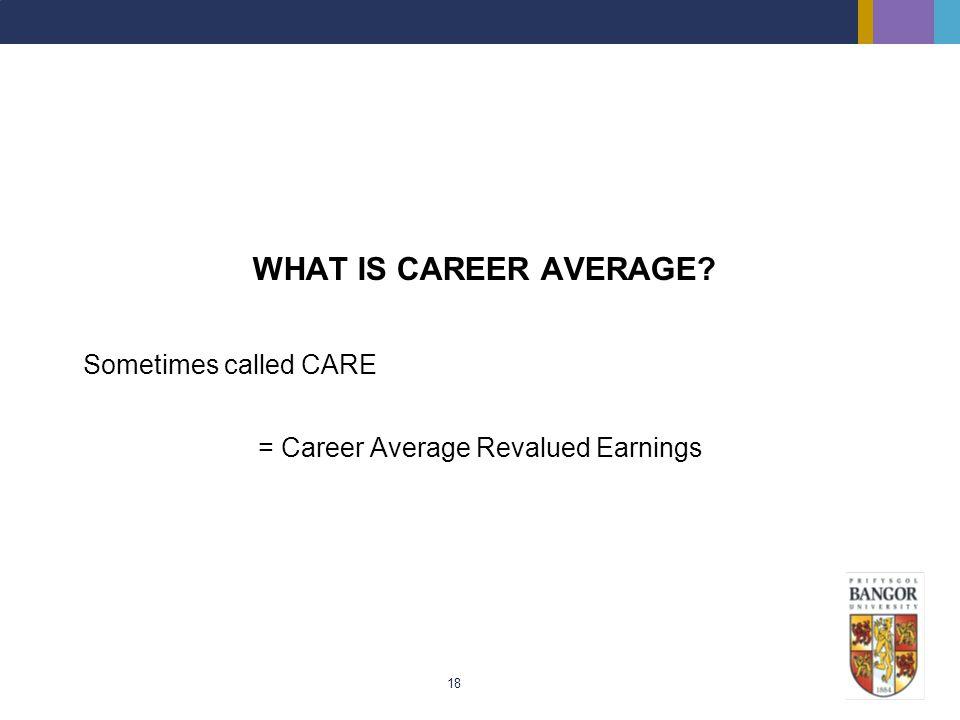 = Career Average Revalued Earnings