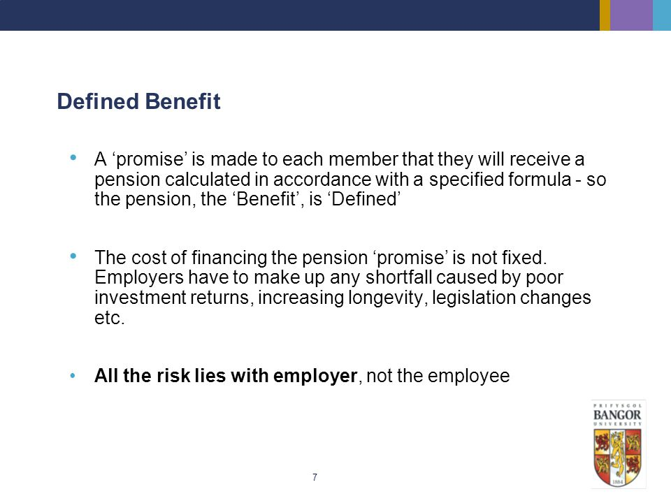 Defined Benefit