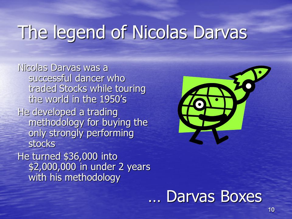 The legend of Nicolas Darvas