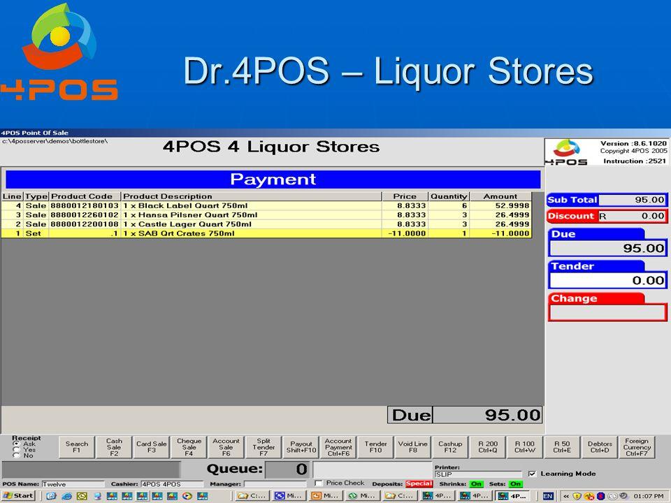 Dr.4POS – Liquor Stores