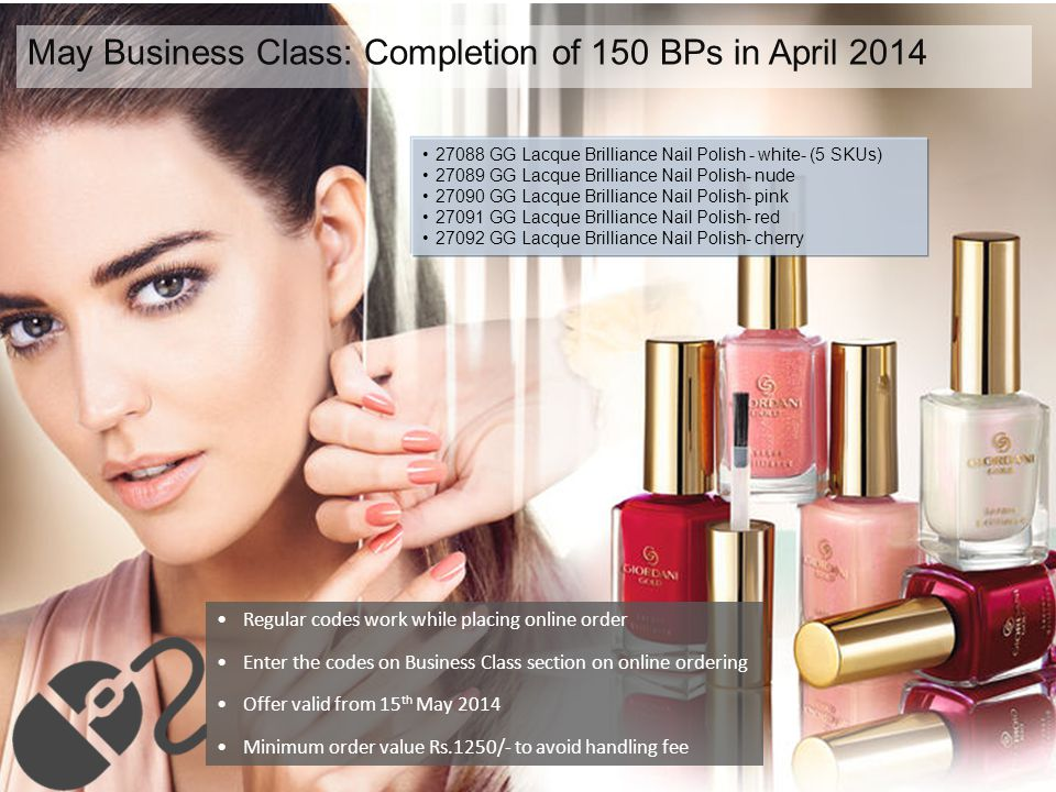 May Business Class: Completion of 150 BPs in April 2014