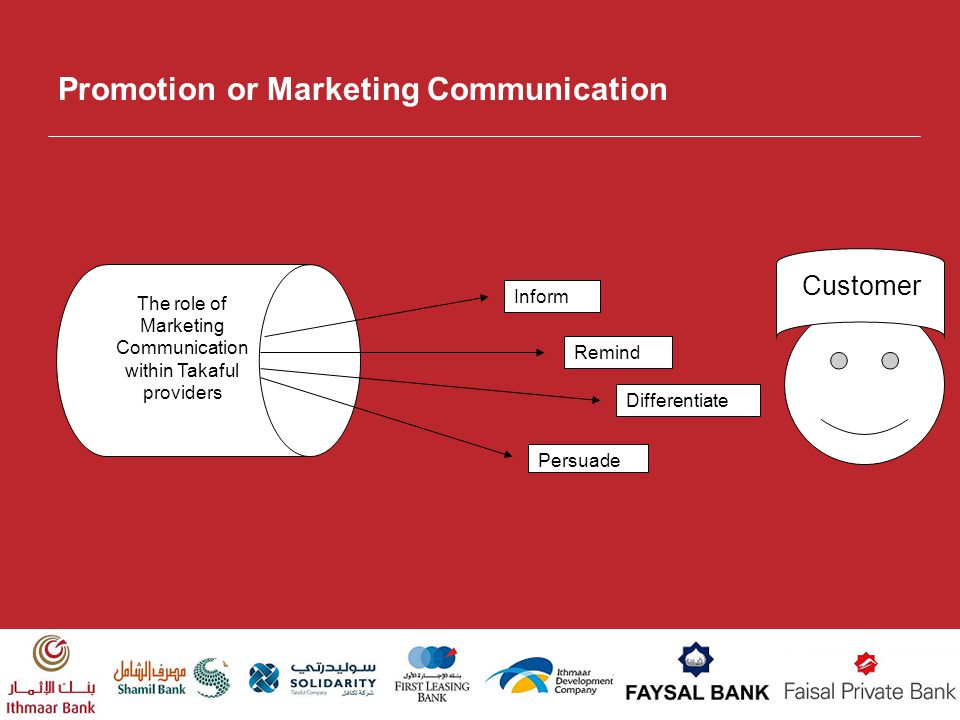 Promotion or Marketing Communication