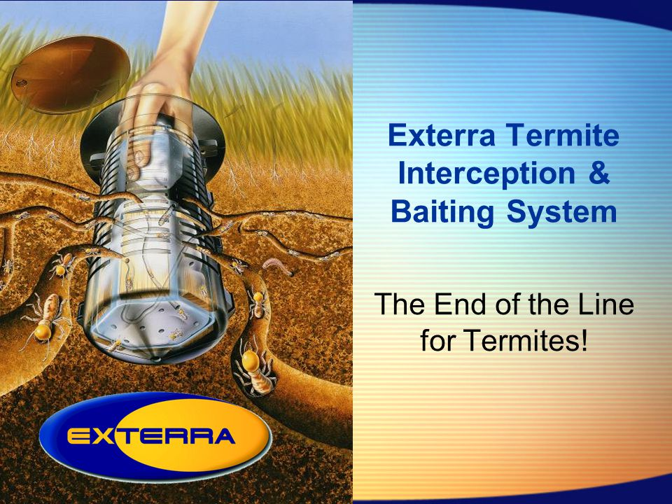 Exterra Termite Interception & Baiting System