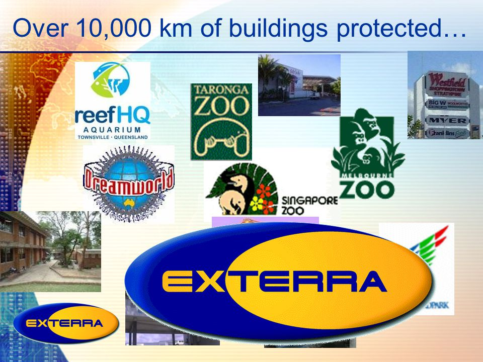 Over 10,000 km of buildings protected…