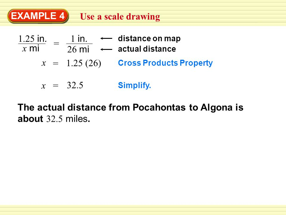 The actual distance from Pocahontas to Algona is about 32.5 miles.