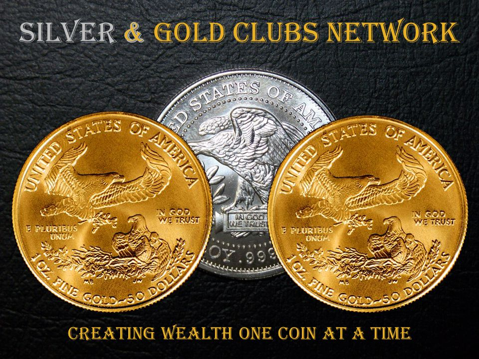CREATING WEALTH ONE COIN AT A TIME