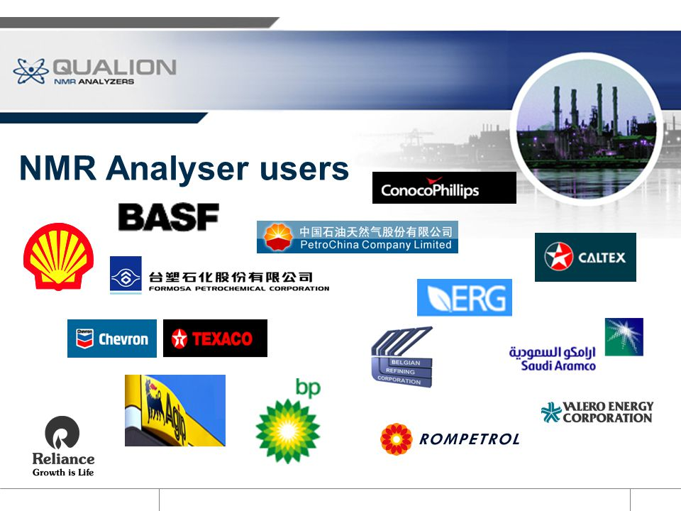 NMR Analyser users