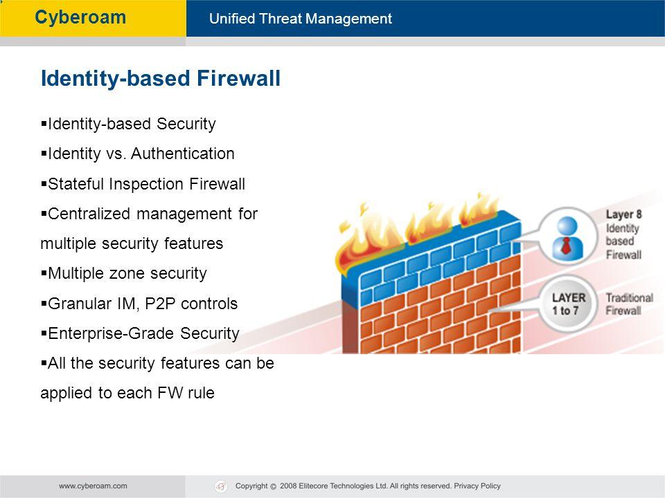 Identity-based Firewall
