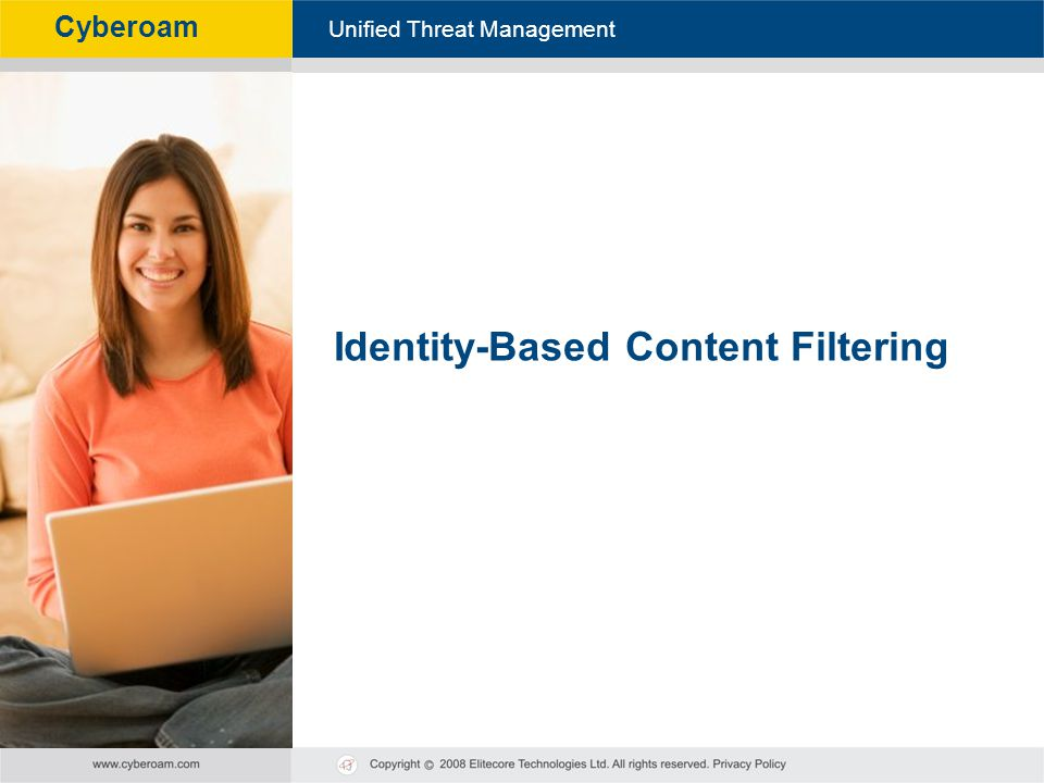 Identity-Based Content Filtering