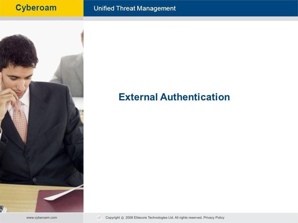 External Authentication