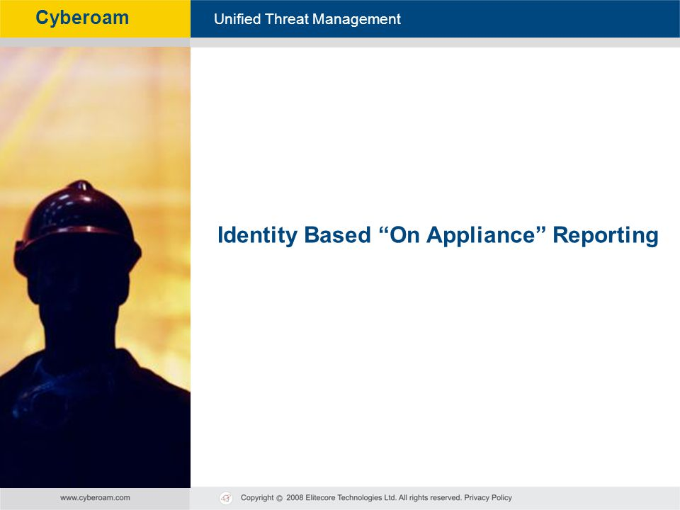 Identity Based On Appliance Reporting