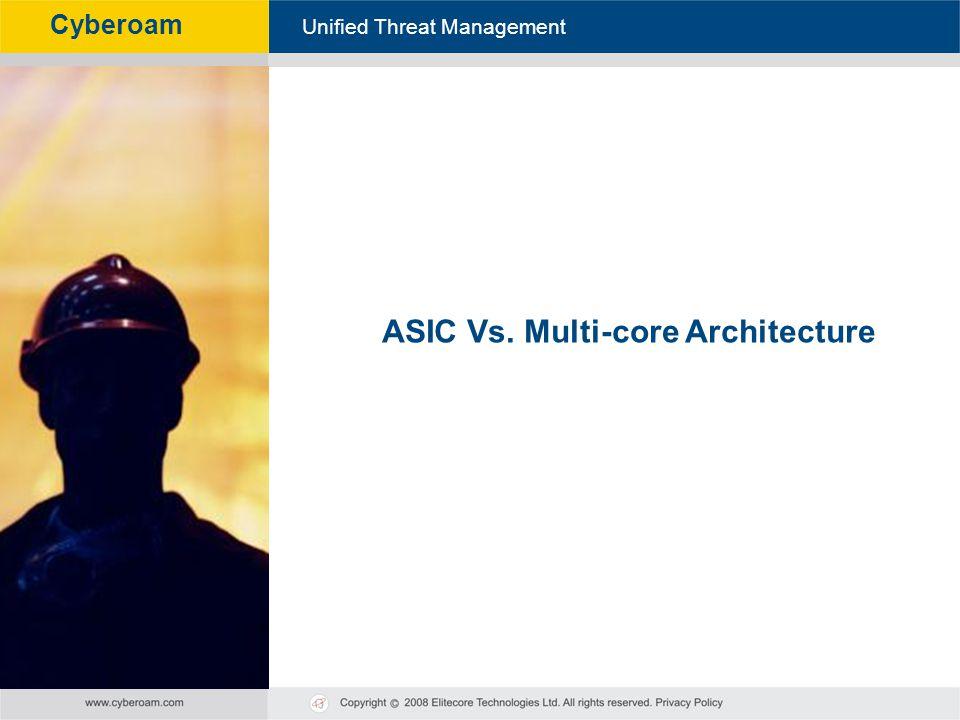ASIC Vs. Multi-core Architecture