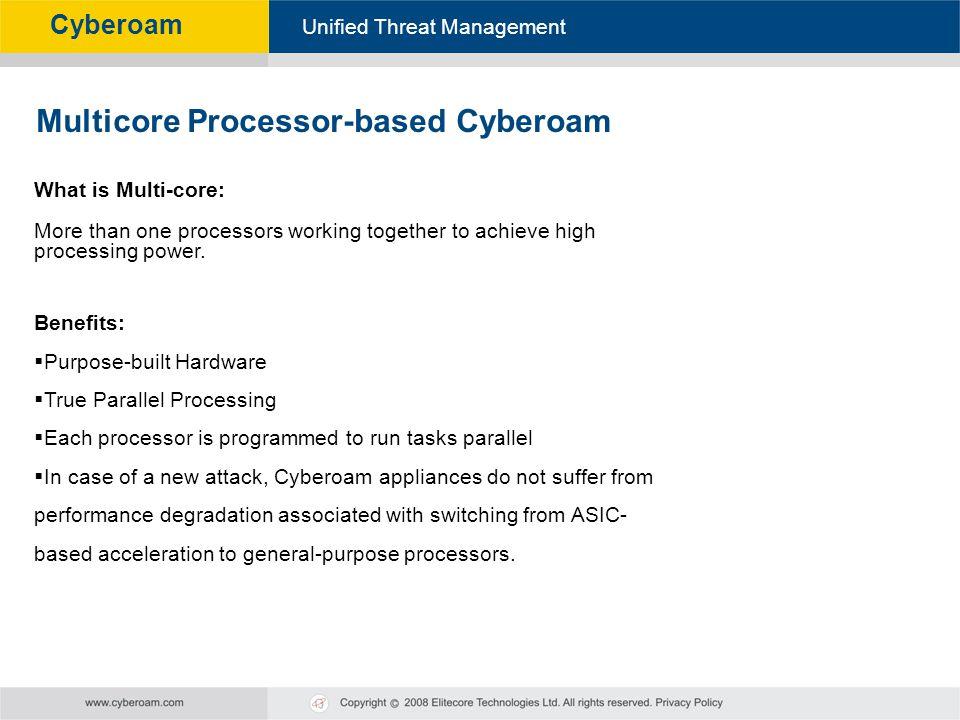 Multicore Processor-based Cyberoam