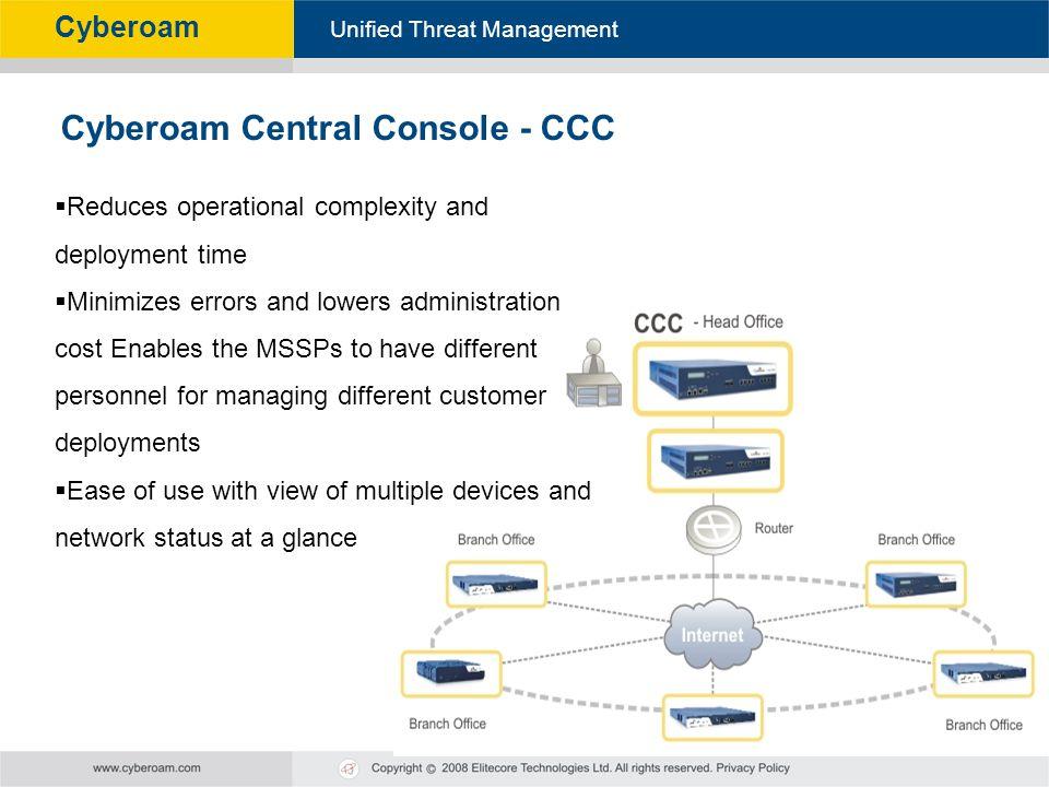 Cyberoam Central Console - CCC
