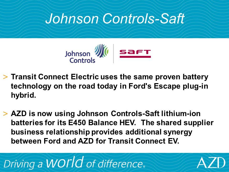 Johnson Controls-Saft