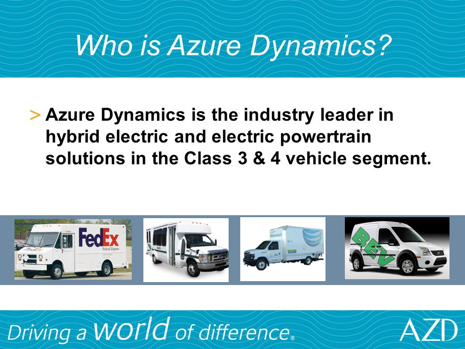 Who is Azure Dynamics.