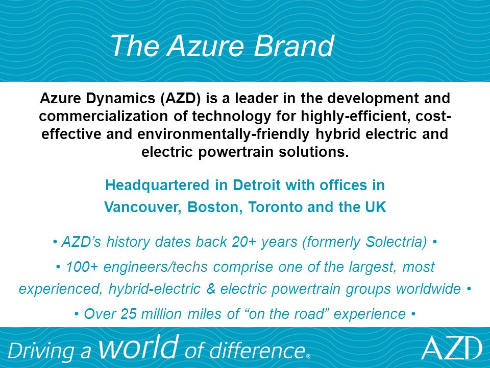 The Azure Brand