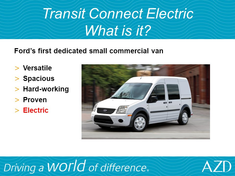 Transit Connect Electric What is it