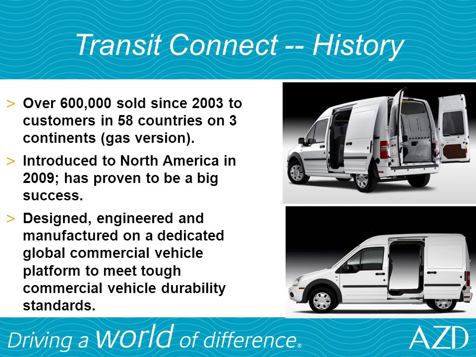 Transit Connect -- History
