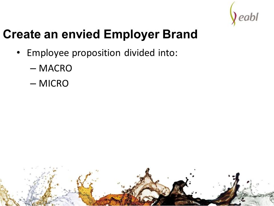Create an envied Employer Brand
