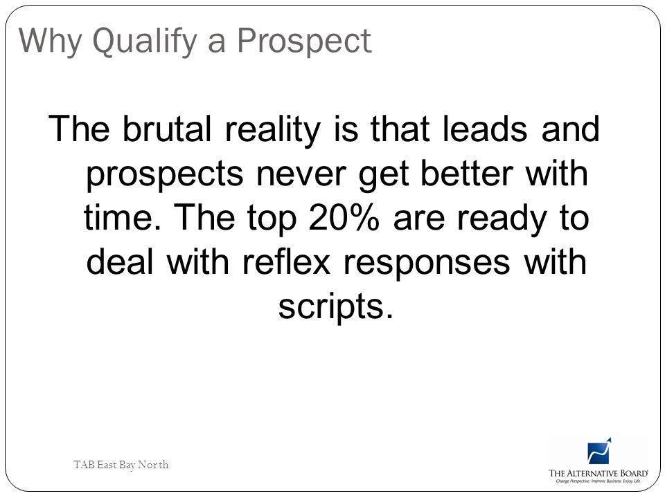 Why Qualify a Prospect