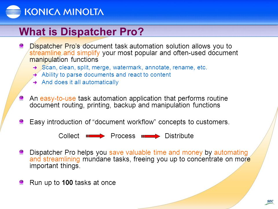 What is Dispatcher Pro