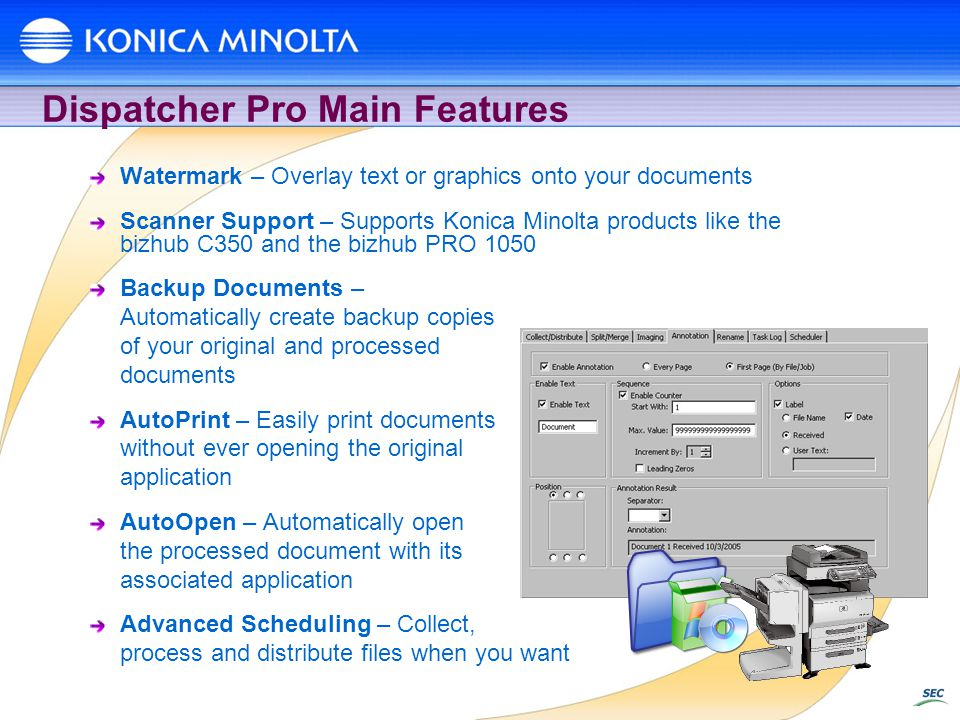 Dispatcher Pro Main Features