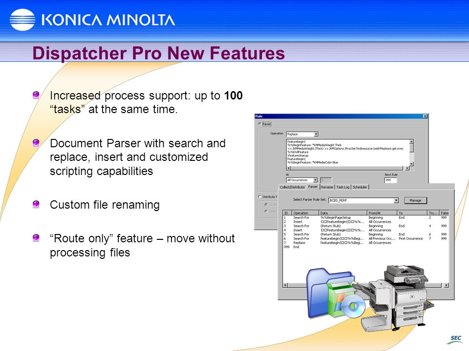 Dispatcher Pro New Features