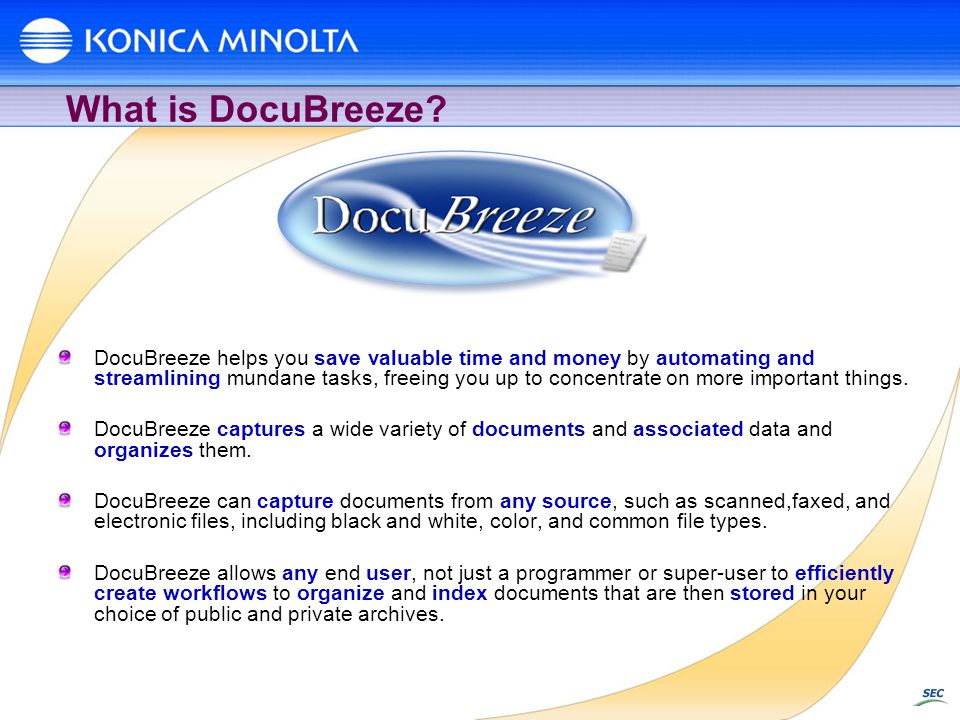 What is DocuBreeze