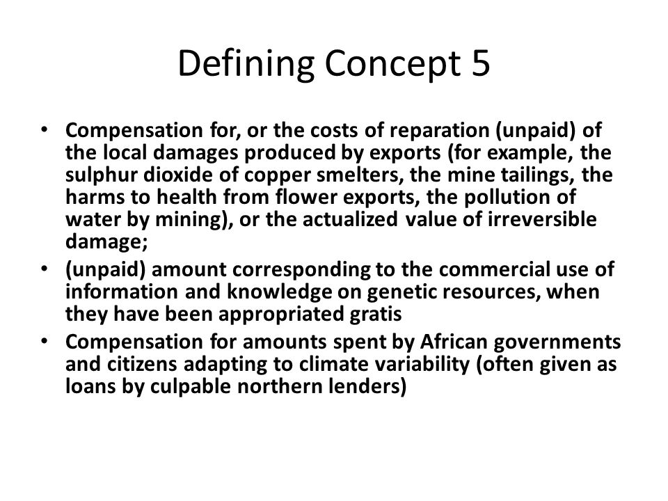 Defining Concept 5